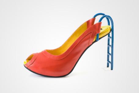 salıncak şeklinde ayakkabı
