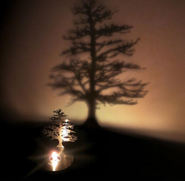 ağaç yaratıcı mum