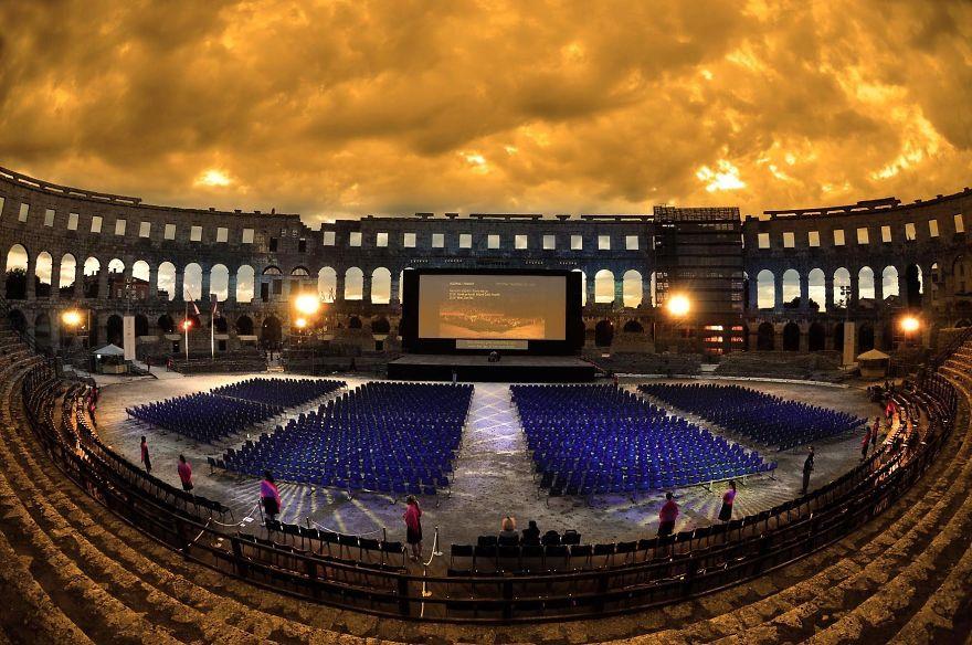 Pula Arena Hırvatistan
