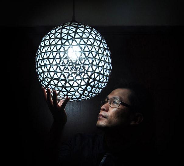 el yapımı lamba