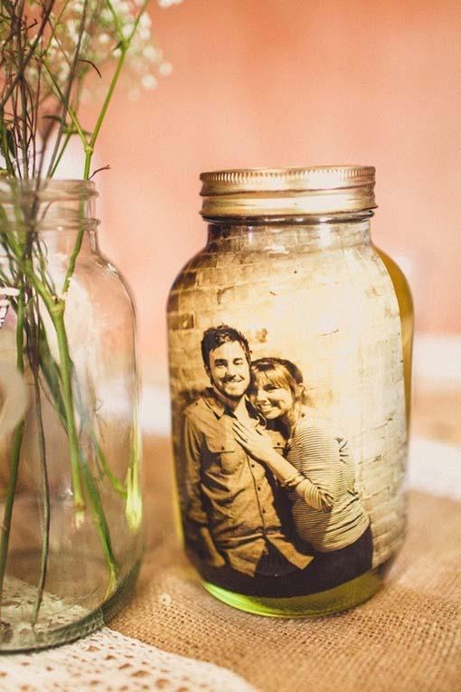 kavanoz ile yapılan romantik hediyeler