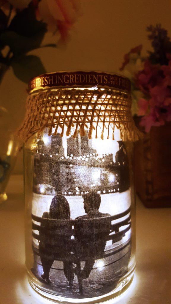romantik kavanozlu hediye